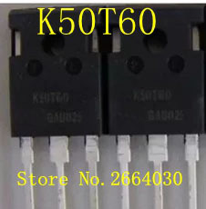 10 adet/grup K50T60 IKW50N60T IGBT TO-247